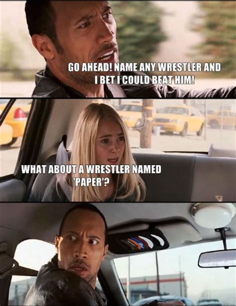 The Rock In Car Meme - rock driving meme by oceanhell on deviantart