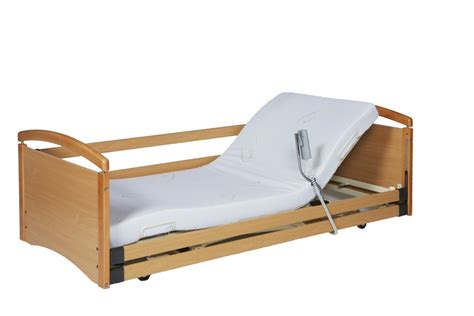 low height beds solace 382 ultra low height adjustable profiling bed
