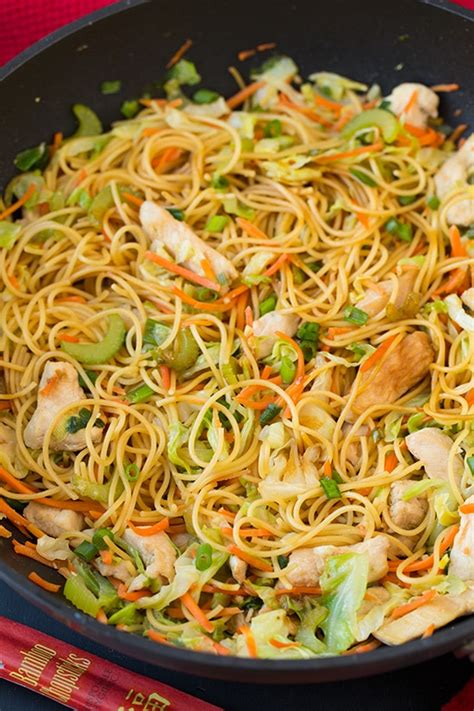 chicken chow mein cooking classy
