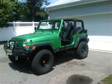 Jeep Rubicon Lime Green Jeepclassifieds 2004 Lime Green Rubicon