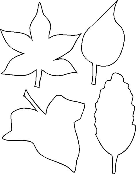 Leaf Outline by How To Draw Leaf Outline