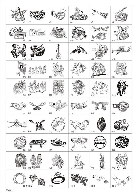 Indian Wedding Card Symbols Pictures indian wedding symbols search dee
