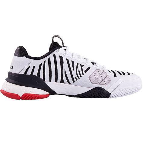 Adidas Tenis Barricade Y3 Boost adidas y 3 barricade boost s tennis shoe white black