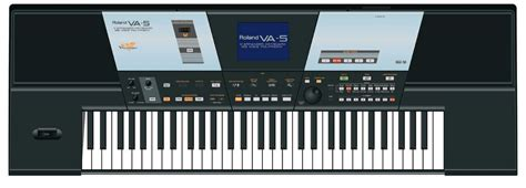 Keyboard Roland Va 5 roland va 5 zikinf
