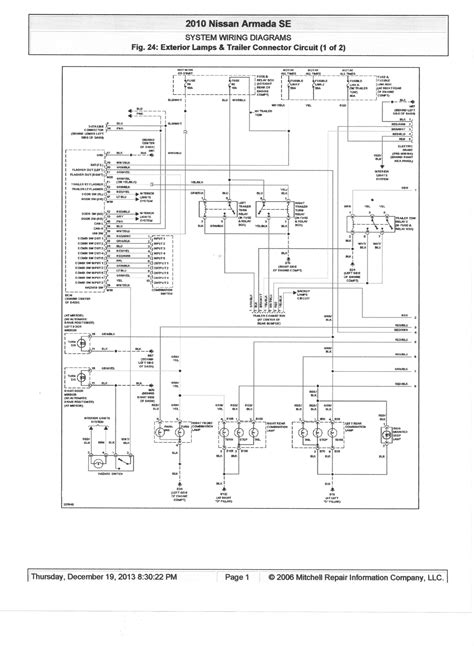 2006 nissan xterra light wiring diagram 2006