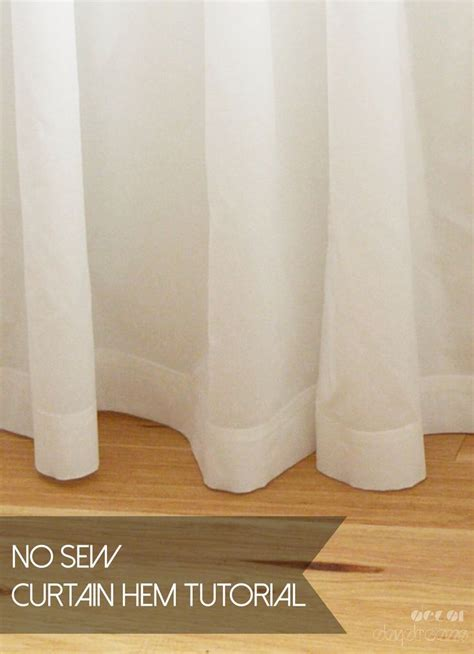 hemming curtains with tape perfectly hemmed curtains using ikea s hemming tape