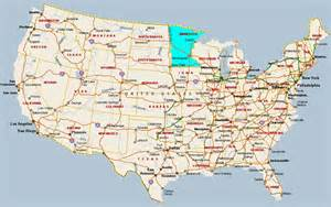 us map minnesota fitzy s web site travel united states of america