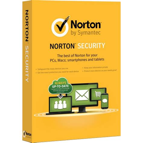 Antivirus Norton Security norton security standard 1 year 1 device disk