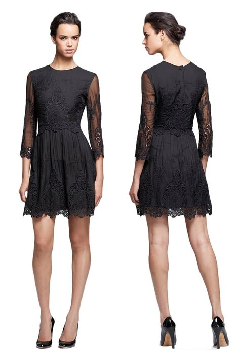 Premium Mini Dress Import Original Royal Brocade Lace L nwt dolce vita black silk lace embroidered valentina dress l sold out ebay