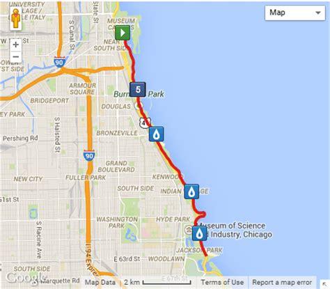 chicago marathon elevation map loser half marathon chicago 2014 2015 date