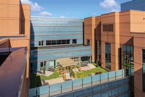 Rooftop Garden Indianapolis by Iu Health Hospital Roof Garden Msktd Associates Inc