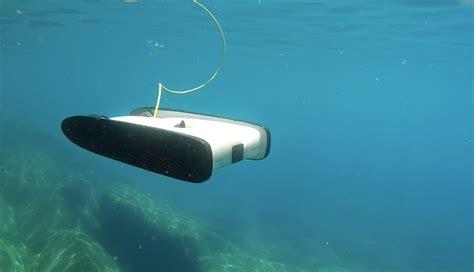 designboom underwater trident underwater drone sets a world of ocean curiosity