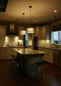 Light Fixtures Over Kitchen Island by Kitchen Island Lighting System With Pendant And Chandelier