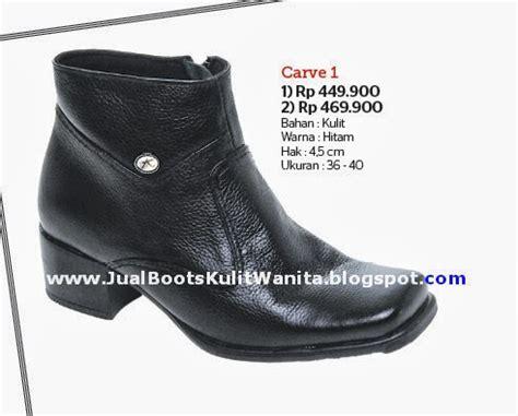 Sepatu Wanita Boots Toraja Murah jual sepatu boots kulit wanita jual sepatu boots kulit