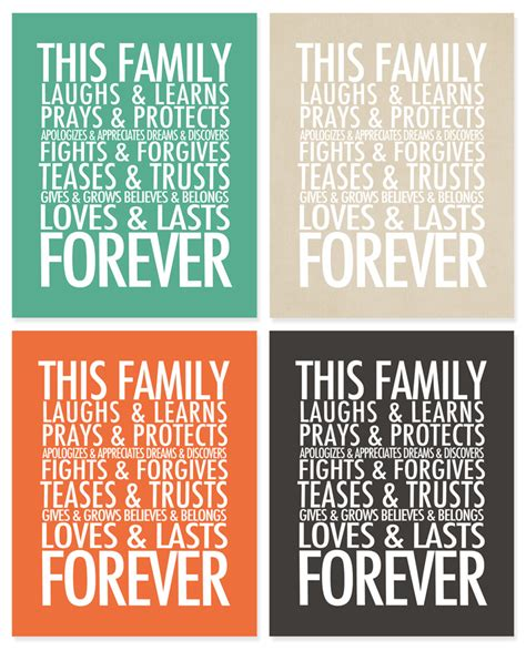 printable quotes about family printable 4x6 quotes quotesgram