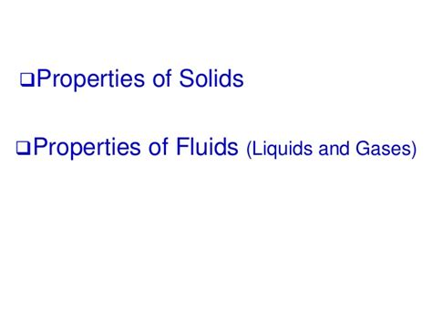 chapter 3 volumetric properties of pure fluids chap 11 stress strain chap13 fluids
