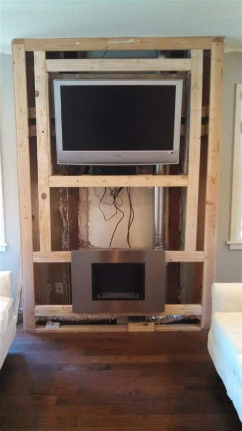 diy fireplace feature wall on a budget fireplace feature