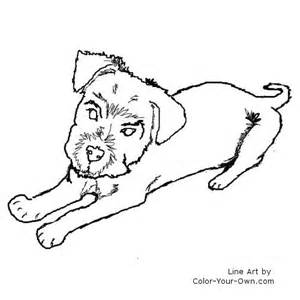 schnauzer coloring pages to print coloring pages
