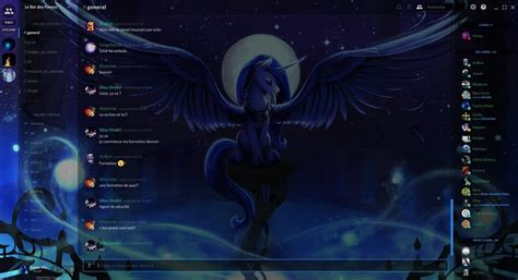discord custom themes discord princess luna custom theme by cedricc666 on
