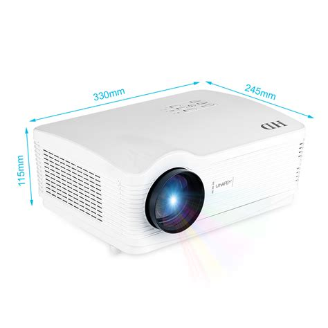 Projector Wireless Hd 1080p Wifi Projector Wireless Android Hdmi Usb Sd Atv Av Vga Home Cinema Au Ebay