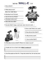 wall e movie questions by nicole duhr teachers pay teachers movie wall e worksheet