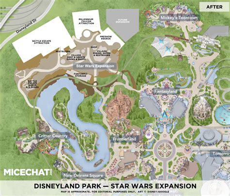 layout large land star wars land rendering layout of star wars experience