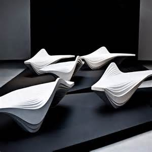 zaha hadid bench serac bench by zaha hadid furniture brabbu brabbu