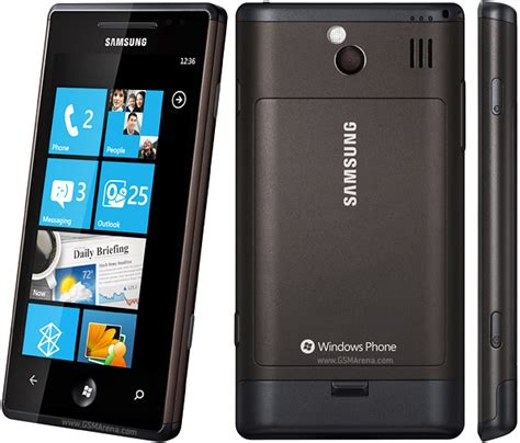 samsung i8700 omnia 7 pictures official photos