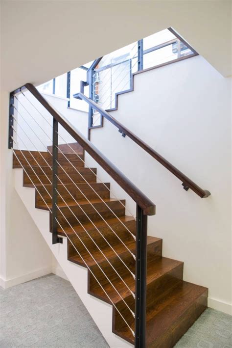 Banister Remodel Stair Railings And Half Walls Ideas Basement Masters