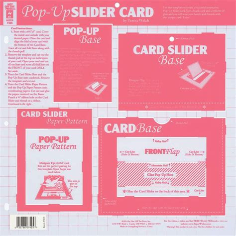 Magic Spinning Card Template by 17 Best Images About Slider Card On Track The