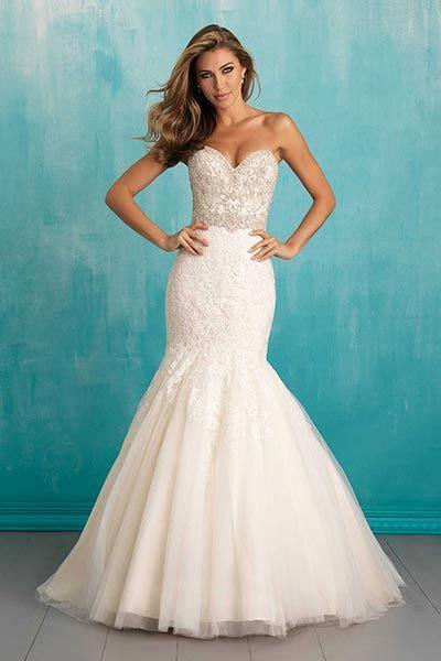 brautkleider größe 50 50 dazzling mermaid and fit and flare gowns brautkleid