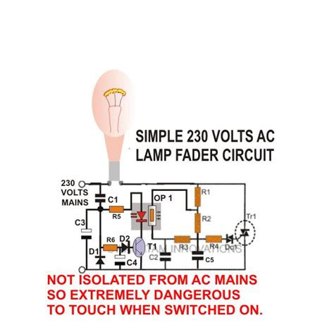How To Build Ac Dc Light Fader Circuits Light Fader