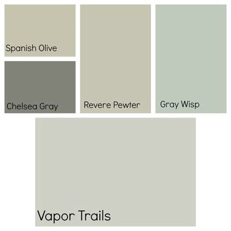 favorite benjamin paint color recommended specific colors thanks kelli vapor trails is