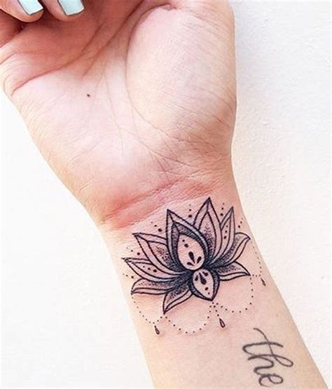 lotus tattoo wrist 25 best ideas about black lace on lace