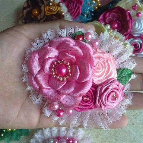 Bros Mutiara Besar 05 bros handmade ami handmade