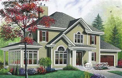 small traditional house plans house plan w6816 detail from drummondhouseplans com