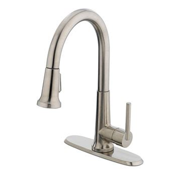 estora 10 51111 varismo pull down kitchen faucet atg stores estora 30 51111 bn ancona single handle pull down kitchen