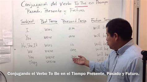 como son las preguntas en pasado en ingles conjugando el verbo to be en el tiempo presente pasado y