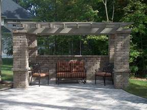 Attached Pergolas by Attached Pergola Kit Americana Building Products