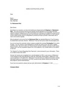 best photos of retirement notification letter sle retirement announcement letter sle