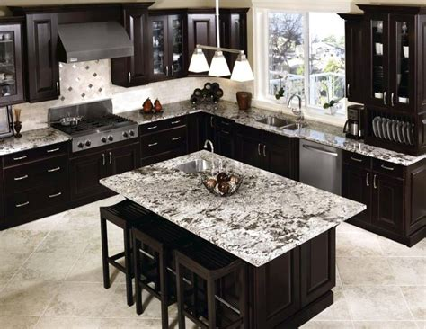 light colored tile backsplash ideas  dark cabinets