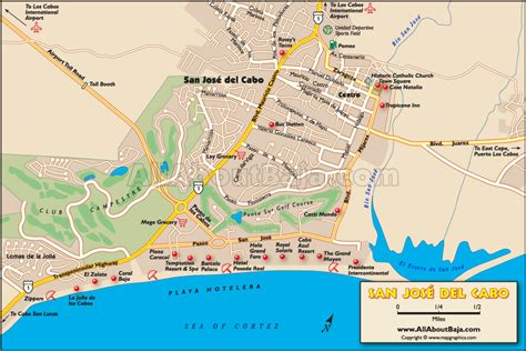 san jose mexico hotel map travel maps of baja california allaboutbaja