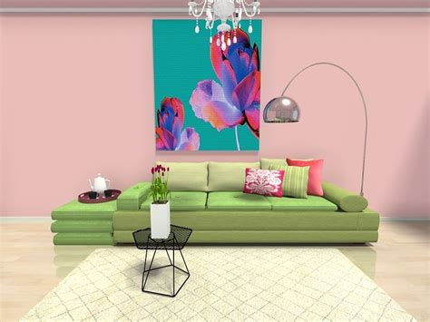 Pink And Green Sofa by 10 Decorating Ideas To Inspire Your Home