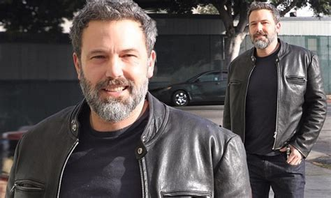 ben affleck smiles as he the best of things ben affleck smiles as he