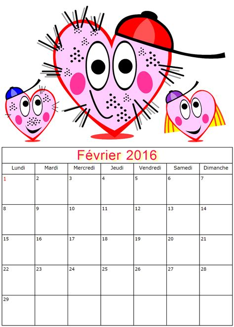 Calendrier Lunaire 2016 Fevrier Search Results For Calendrier Mois De Fevrier Calendar