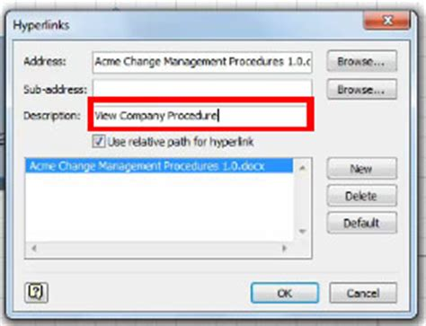 visio hyperlinks learn various ways to use hyperlinks with microsoft visio