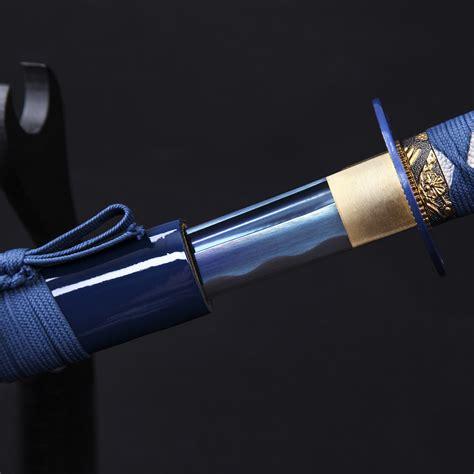 best samurai sword samurai sword sharp authentic japanese katana sword blue