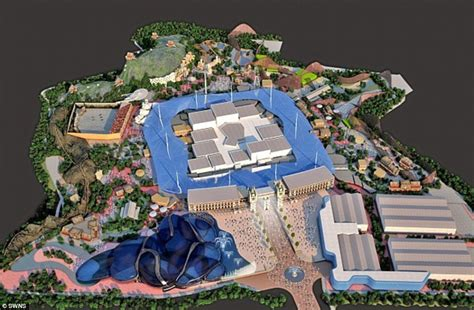 Attraction developers have unveiled plans to build one of the biggest
