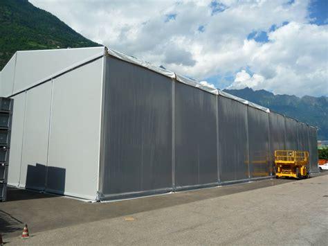 capannoni in telone capannoni in telo pvc tendone industriale aluflex in