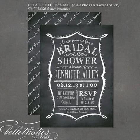 diy chalkboard bridal shower invitations printable bridal shower invite chalkboard invitation